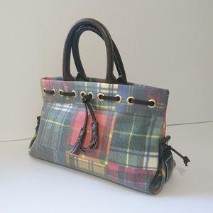 Dooney & Bourke Cute Plaid Colorful Handbag